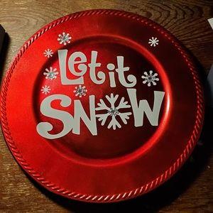 Let it snow Christmas 🎄 decoration